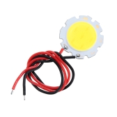 3W 9-10V DC LED Runde COB Chip Licht Lampe Birne mit Wire High-Power hoch hell Warm/Natur-weiß