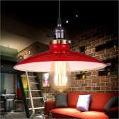 Lixada Metal Reminisced Pendant Light Lamp E27 Loft Vintage Retro Country for Parlor Bedroom Living Hall with 1.2m Wire
