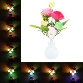 LED Flower Plant Sensor de cambio de color Light