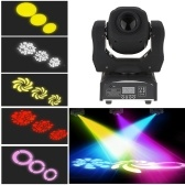 60W LED 8 Gobos 8 Color Stage Effect Light (JP Plug)