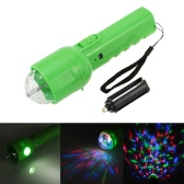 DC 5V 3W Przenośne wielofunkcyjne podwójne zastosowanie RGB Efekt świetlny LED Efekt świetlny Lampa Magic Ball Lampa Latarka do Disco KTV Club Party