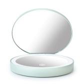 Miroir de maquillage portable Mini LED Light
