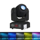 Lixada 30W Rainbow 7 couleurs changeant la tête se déplaçant la lumière d'étape de LED