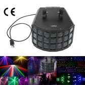 Lixada 2LED 90W DMX512 звуковой активации Auto работает 7 каналов RGBW цвета изменяя стадии луч свечения лампы для партии клуб Диско КТВ