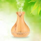 400ml Tomshine Refroidir Mist Air humidificateur à ultrasons Aroma Huile Essentielle Diffuseur Bois-Grain 14 Changement de couleur de lumière pour Office Home Chambre Salon Étude Yoga Spa