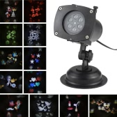 Tomshine Christmas Pumpkin / Ghost / Heart / Snowflake Rotating LED Projection Light