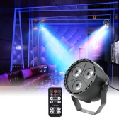 Tomshine 15W 3LEDs RGBP Stage Par Light with Remote Controller