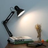 Lámpara de clip de abrazadera de lámpara de escritorio plegable AC85-265V