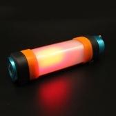 Luz LED para tienda de campaña al aire libre, multifuncional, fuerte magnetismo, lámpara de emergencia, recargable por USB, IP68, luz de buceo impermeable