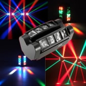 90W RGBW 6/12 Kanały LED DMX512 Dźwięk aktywowany Mini Spider Stage Beam Light