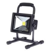 Lampa LED Akumulator Lixada 20W Reflektory przenośne Reflektor odkryty Bezpieczeństwo Awaryjne Wodoodporny IP66 Ładowarka samochodowa wliczony