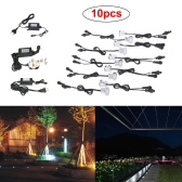 10PCS 0.6W 500LM SMD2835 32mm LED Deck Spotlights