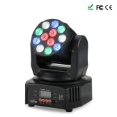 Tomshine 40W 12 LEDs RGBW Washing Effect Moving Head Stage Light