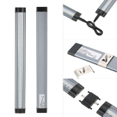 Tomshine LED Under Cabinet Lighting Kit 4 PCS with Dimmer SMD2835 All Accessories Included for Cloakroom Cupboard Wardrobe Kitchen