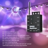 DMX512 Wireless Distribution Amplifier For Stage Light