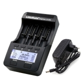 LiitoKala Lii-500 4 Slots LCD Smartest Battery Charger Kit with EU Adapter