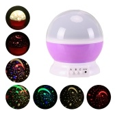 4 diody LED Constellation Starry Twinkle Projector Night Light