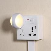 2PCS 0.26 W Luz blanca cálida con sensor crepuscular