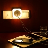 1,5 W Ciepłe białe światło nocne z czujnikiem zmierzchowym