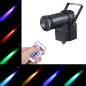 AC95-240V 15W RGB LED Mini Spot Lamp Stage Light