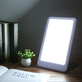 Portable AC100-240V Anti-Seasonal Affective Disorder White Color Phototherapy Lamp