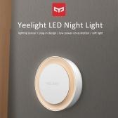 Yeelight YLYD10YL Plug-in LEDs Night Light Warm White Energy Saving Lighting Sensor for Living Room Bedroom Hallway Stairs