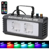 40W Disco Party Stage Light Sounds Active Music Center Strobe Lamp for Home Wedding Party Dance DJ Club