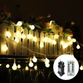Tomshine 13M / 42.7Ft 3.6W 100 LEDs Globe String Light con control remoto