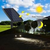Tomshine 130LM 2W Dual Solar Powered Spotlights White