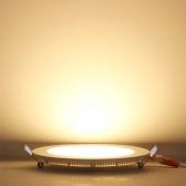 6W 9W 12W 15W 18W Ultra Thin Recessed Round Ceiling Panel Lamp