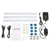 3 PCS LED unter Kabinett-Beleuchtungs-Installationssatz mit Skala-Dimmer