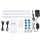 3 PCS LED Under Cabinet Lighting Kit With Dial Dimmer