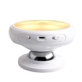 360 ° Rotation Mouvement Capteur Lumière Corps Humain Induction Nuit Lumière LED Mur Lampe