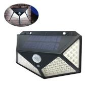 100LED Solar Light Motion Sensor Wall Lamp