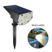 20LED Solar Powered Lawn Lamp Solar Garden Light Outdoor Lighting for Pathway Garden Yard Lawn Patio