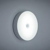 Motion Sensor LEDs Night Light USB Rechargeable Human Body Induction Round Night Lamp