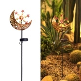 DC 1.2 V Solar Powered Energy LEDs Moon Star Design Lawn Light