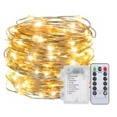 10M / 32.8Ft 100LED Fairy String Light avec télécommande