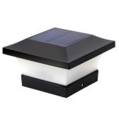 Солнечная крышка светильник для забора Наружное освещение для деревянных столбов IP65 Водонепроницаемые светодиоды Postcap Фонарь для двора, дорожки, крыльца, сада