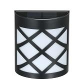 ソーラーパワーウォールライトフェンス装飾ランプ夕暮れから夜明けまでの照明制御