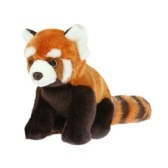 Lifelike Plush Red Panda Toy Lovely Stuffed Animal Toy