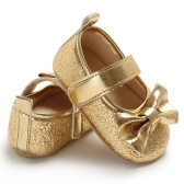 Newborn Baby Girls Shoes PU Leather Soft Sole Non-Slip