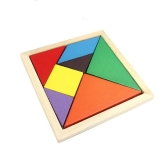 Colorful Changable DIY Puzzle Jigsaw Wooden Kids Children Toy