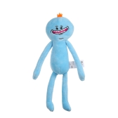 25 CM Cute Cartoon Rick Plush Muñeca Morty Toy Kids Stuffed Toy Accessories Soft Almohada de regalo de cumpleaños