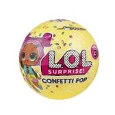 1 szt. LOL Niespodzianka! Konfetti Pop-Series 3-Wave 1 Rozpakowanie zabawki 9cm