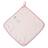 Baby Towel Washcloth 100% Organic Bamboo Muslin Soft Absorbent Burp cloth For Newborn Infant Baby Pink