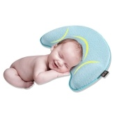 Cabeza de almohada para bebé recién nacido que forma un cojín de espuma con memoria