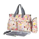 Insular Baby Diaper Bag Handbag Large Capacity Mummy Nappy Nursing Bag Travel for Baby Care Blossom