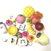 15 piezas lento aumento Squishy perfumado panda panda suave juguete de juguete