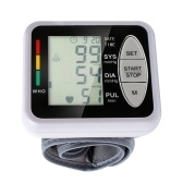 Portable Wrist Electronic Sphygmomanometer Blood Pressure Monitor
